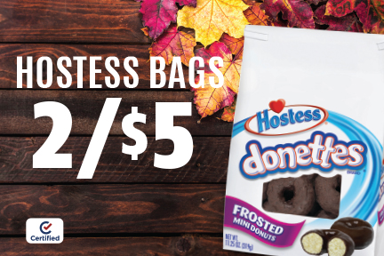 Hostess Bags of Donuts - 2 for $5