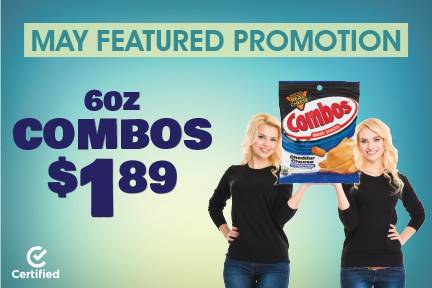 May Featured Promotion: 6oz Combos $1.89