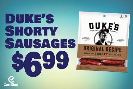 Duke's Shorty Sausages $6.99