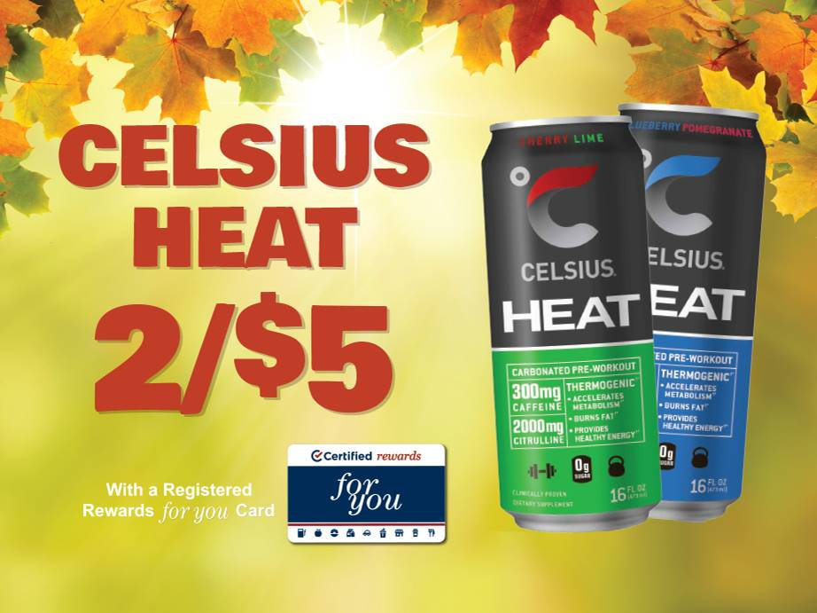 Celsius Heat 2 for $5