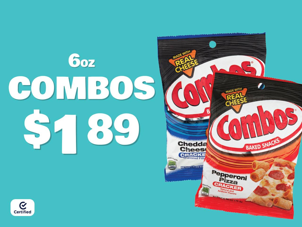 6oz Combos for $1.89